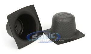 Installbay Xtc 6.5 Inch Universal Car Audio Foam Speaker Baffles (4.5 Inch Depth)