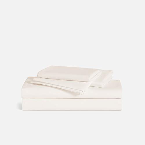 Brooklinen Luxe 4 Piece Bed Sheet Set - 100% Long Staple Cotton - Queen