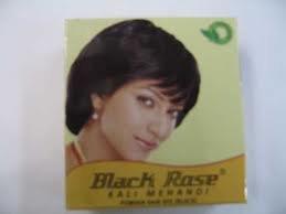 Black Rose Kali Mehendi Black Rose Hair Dye