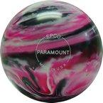 EPCO-Duckpin-Bowling-Ball-Marbleized-Magenta-Black-White-Single-Ball