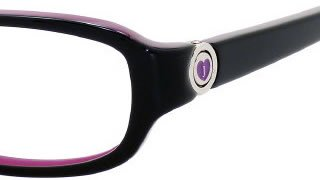 Juicy Couture Eyeglasses ERIN BLACK 1C1 CHILDREN'S