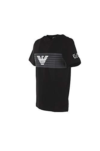 T Grafica Ea7 Uomo Nero shirt z4S5T