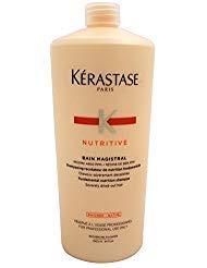 Kerastase Unisex Nutritive Bain Magistral Fundamental Nutrition Shampoo, 34 Ounce