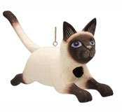 Bobbo Inc. Birdhouse Cat Leap Siamese by Songbird Essentials (Image #1)
