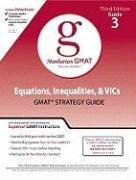 Equations, Inequalities, & VICs GMAT Strategy Guide (Manhattan Gmat Prep)