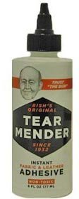 Tear Mender Instant Adhesive for Fabric+Leather 2oz