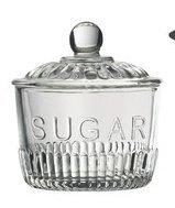Anchor Sugar Bowl - Glass Sugar Bowl