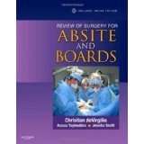 Review of Surgery for ABSITE and Boards, 1e [PAPERBACK] [2010] [By Christian DeVirgilio MD FAC]
