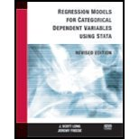 Regression Models for Categorical Dependent Variables Using Stata, Revised Edition, J. Scott Long, 1881228827