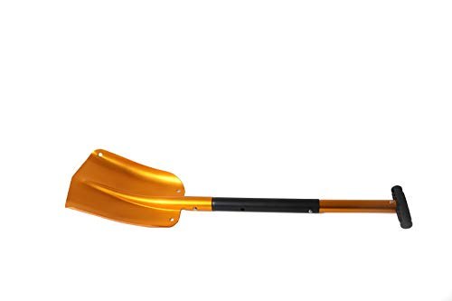 Perfect Snow Shovel for Car Camping and Other Outdoor Activi Lifeline Aluminum Sport Utility Shovel 3 Piece Collapsible Design