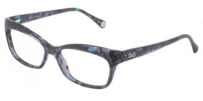D & G Eyeglasses DD 1232 GREEN 2551 DD1232 - Cat And Eye Eyeglasses Dolce Gabbana