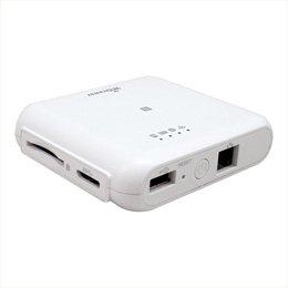 スマートフォンタブレット携帯電話 スマートフォン その他アクセサリー ラトックシステム Wi-Fi SDカードリーダー 5GHz対応 433Mbpsモデル (ホワイト) REX-WIFISD2 -ak [簡易パッケージ品] B07D1BT4JV