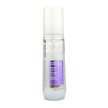 Goldwell Dualsenses Blondes & Highlights Anti-Yellow Brilliance Serum Spray Luminosity & Protect 4oz