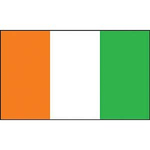 Flag Country Ivory Coast Poly 3ft X - Ivory Coast Flag Country