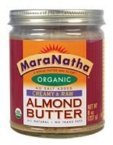 Maranatha Raw Almond Butter No Salt ( 12x8 OZ)