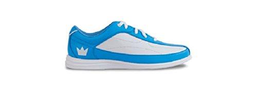 Brunswick da White da Bliss scarpe Blue donna bowling rfOfga