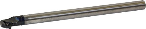 Kyocera E25T-SDQCL11-30A Carbide Boring Bar 1.1811in Minimum Bore Diameter 11.811in OAL S-SDQC-A Toolholder Style Left Hand Screw Holding 17.50 Degrees Lead Angle by Kyocera