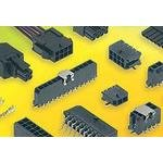 43650-0804, Conn Power HDR 8 POS 3mm Solder RA Thru-Hole 8 Terminal 1 Port Micro-Fit 3.0 Tray (25 Items)