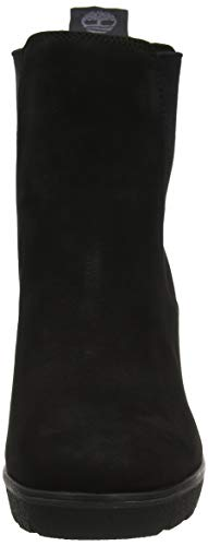 Femme Chelsea 1 black Bottes Timberland Luxe Noir Height Paris Elko IBwUWqRpx