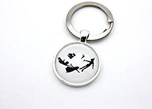 Silhouette 4 Key chain Peter Pan