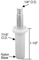 CRL 14 Bi-Fold Door Top Pivot 716 OD Base for Cox Doors