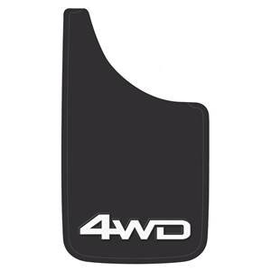 (Plasticolor 4WD Easy Fit Mud Flaps - 000546R01)