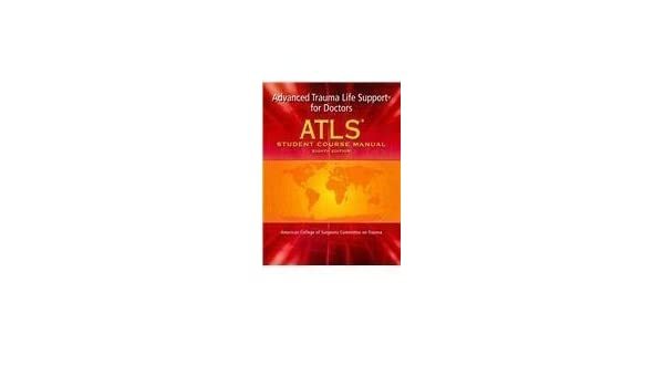 Atls student course manual 8th edition.