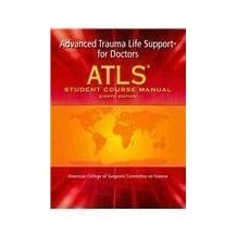 Atls Student Course Manual with DVD: Advanced Trauma Life Support for Doctors [With DVD] 8 Pap/DVD Edition by Acs published by American College of Surgeons (2008)