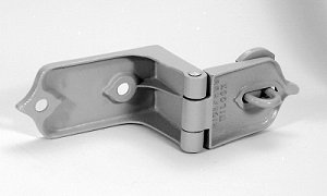 Heavy Hasp for Door- Zinc Plated by Richards-Wilcox