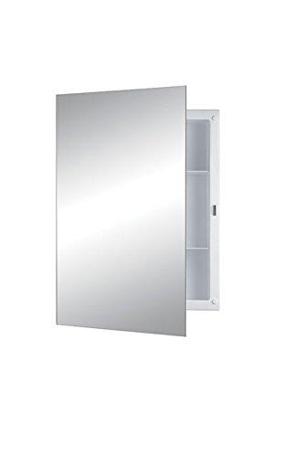 Jensen B7233X Polished Edge Mirror Medicine Cabinet, 16