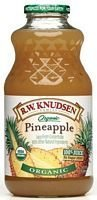 Knudsen Organic Pineapple Juice, 32 Ounce -- 12 per case. by Knudsen