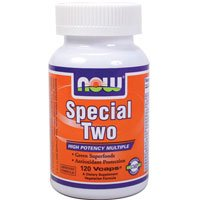 Now Foods Special Two Multiple Vitamin - 120 Vcaps ( Multi-Pack)