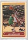 Antoine Walker (Basketball Card) 2006-07 Topps Chrome - [Base] - Refractor #109