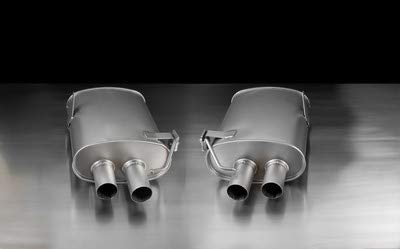 Remus Exhaust Tips - Remus 089907 0500LR Sport Exhaust System (L/R with 4 polished tips 84 mm Street Race)