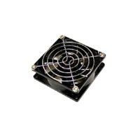 Chrome Grill Fan - Bgears 2 Pieces Pack Cooling Fan Grill 120mm