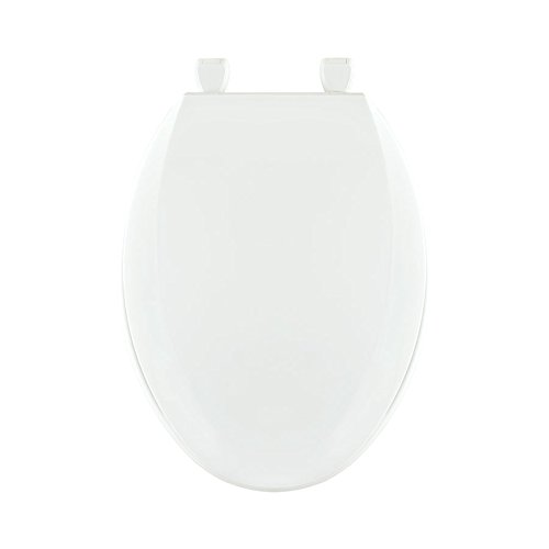 Centoco 1600-001 Plastic Elongated Toilet Seat with Closed Front, White (Toilet Seat 001)