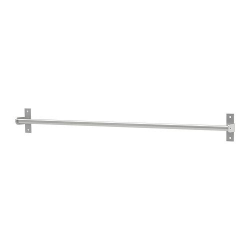 Ikea Stainless Steel Rail 202.135.38, 31.5-inch
