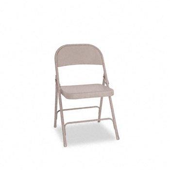 - Alera® Steel Folding Chair CHAIR,FLDING,W/2BRACE,TAN 70057301 (Pack of2)