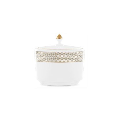 Lismore Diamond Sugar Bowl with Lid by Waterford