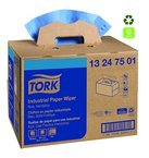 Industrial Paper 4 Ply Wipers - Blue - Handy Box by SCA Tork