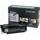 Lexmark 12A8425 OEM Black Return Program High Yield Laser Toner Cartridge, Lexmark T430 Printers (Laser T430 Printer)