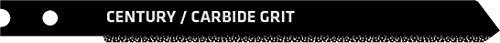 Century Drill & Tool 6460 Universal Shank Carbide Grit Jig Saw Blade, 3-5/8