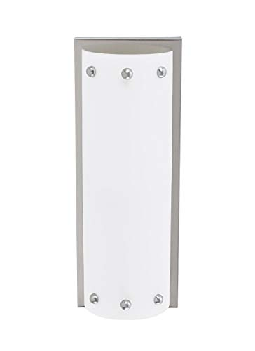 Sea Gull Lighting 47142EN3-98 Centra Two Wall/Bath Sconce Vanity Style Lights, Brushed Stainless