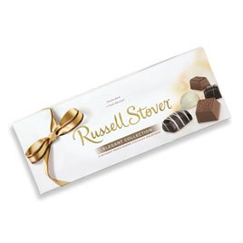 Russell Stover Assorted Chocolates Elegant Collection Gift Box, 10 oz. box