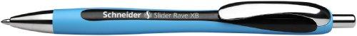 Schneider 132501 Slider Rave XB Kugelschreiber 5-er Packung schwarz