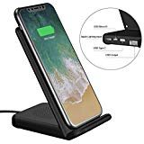 Wireless Charger and USB Charger UPWADE Fast Wireless Charging Pad Stand with 3 Model Input 2 Cooling Fan for Samsung Galaxy...