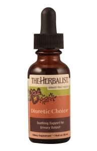 The Herbalist Diuretic Choice Kidney and Bladder Support 1 oz