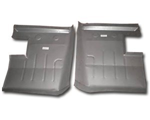 1962-65 Ford Fairlane and 1962-63 Mercury Meteor Rear Floor Pans (Pair)