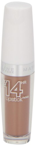 Maybelline New York Superstay 14 Hour Lipstick, Beige For Good, 0.12 Ounce