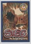 Ty Series 4 Beanie Card - Wild Cards - Steg the Ty-Dye Stegosaurus (Trading Card) 1999 Ty Beanie Babies Series 4 - [Base] - Chase Silver #260